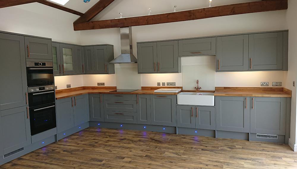 new build property led display lighting